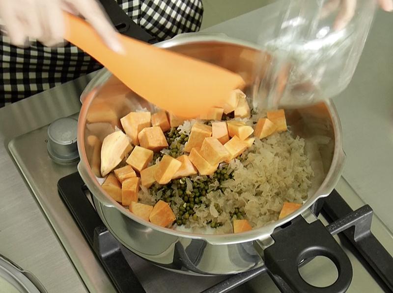 綠豆地瓜白木耳湯_零秒活力鍋